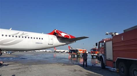 BREAKING Asiana A330 destroyed Turkish Airlines A321 tail